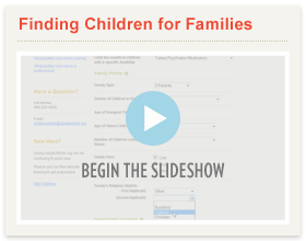 Finding Children Slideshow