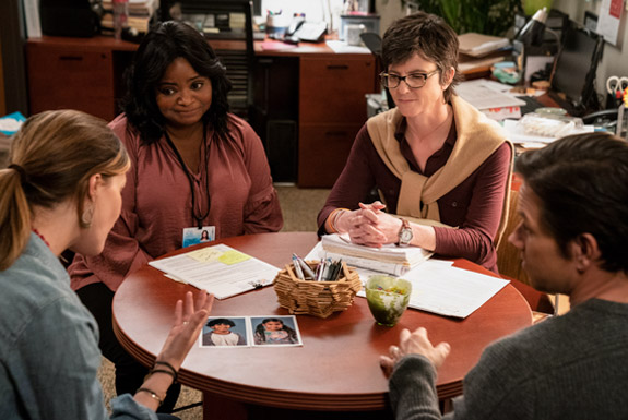 Octavia Spencer, Tig Notaro, Mark Wahlberg, and Rose Byrne in Instant Family